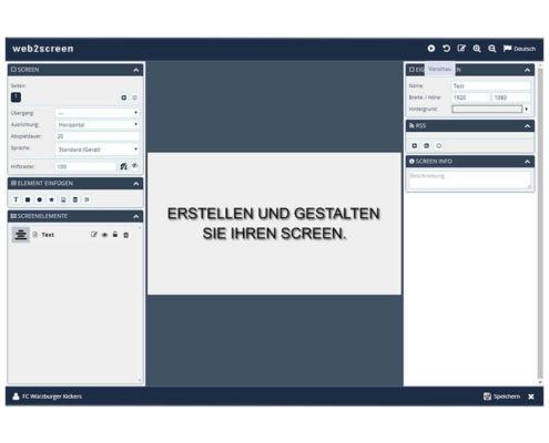 web2screen