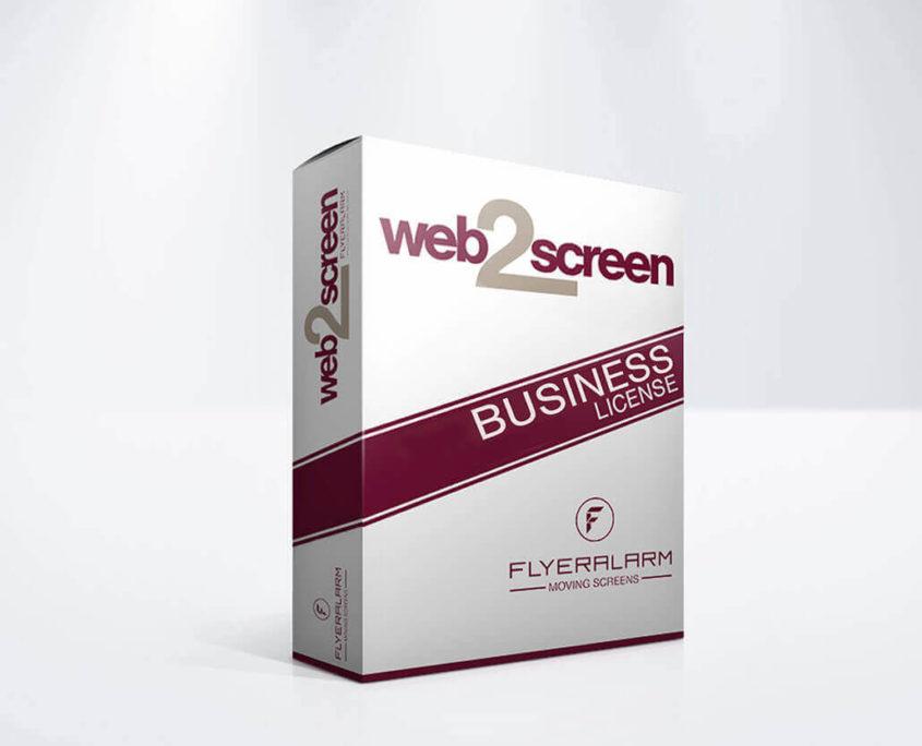 web2screen Business Lizenz